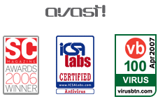 Avast! is regularly awarded as one of the most effective antivirus solutions.